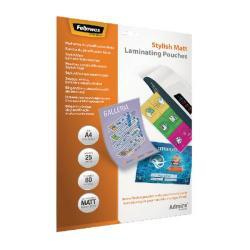 LAMINATING POUCH A4/25PCS 5602101 FELLOWES
